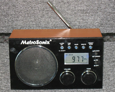 Metrosonix MS-1391 Black