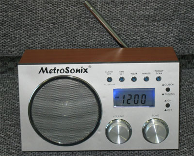 Metrosonix MS-1391 Silver