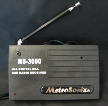 MS-3000 ALL DIGITAL SCA CAR RADIO RECEIVER