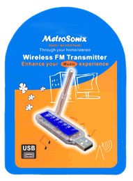 USB FM Wireless Transmitter